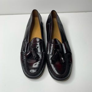 COLE HAAN Pinch Tassell Leather Loafers